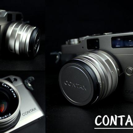 CONTAX G1 Planar 2/45 レンズ付 カメラ