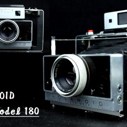 ポラロイド POLAROID Model 180 蛇腹カメラ