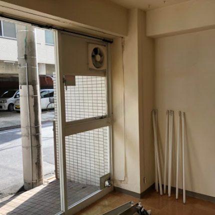 広島市中区舟入 事務所エアコン撤去、処分