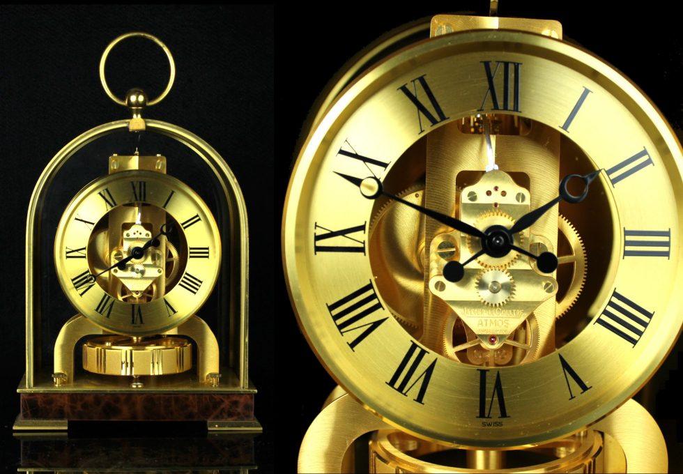 ジャガー ルクルト アトモス 置時計を買取させていただきました。