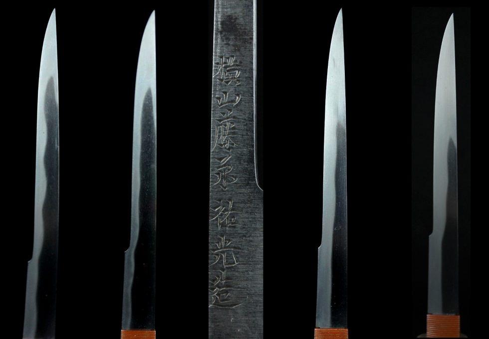 横山藤原祐光造小刀四種を買取させていただきました。