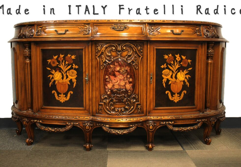 イタリア家具 フラッテリ ラディーチェ Fratelli Radice サイドボードを買取させていただきました。
